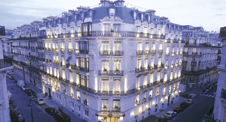 Hotel La trémoille Paris
